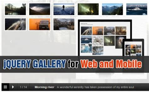 jquery mobile gallery mobile image gallery jquery