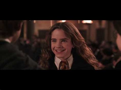 hermione granger in the 1st movoe hermione hugs potter youtube