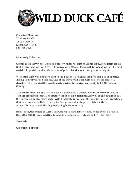 pitch letter format 100 cover letter for a business manager cover