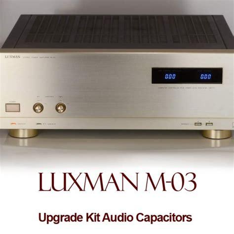 capacitor upgrade luxman m 03 upgrade kit audio capacitors
