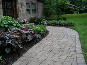 landscaping front walkways front walkway with plant material stoneworxstoneworx front yard