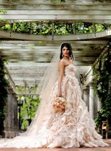 gorgeous champagne colored wedding dress wedding dresses