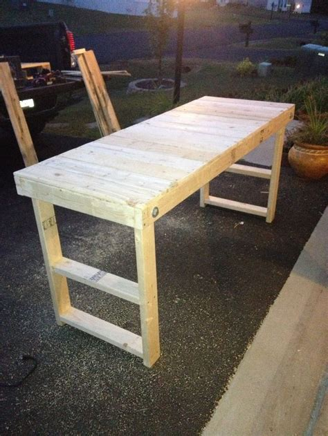 how to make a cheap bench easy cheap folding workbench