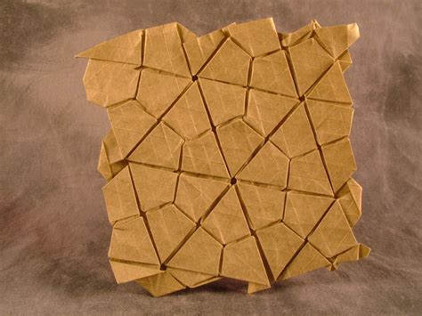 Tessellations Origami - thinking sketches 3 4 6 4 waterbomb flagstone