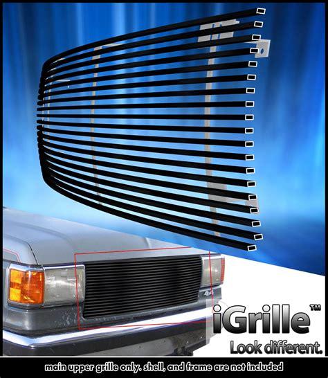 6703 Front Grille Isuzu Nkr 71 fits 87 91 ford bronco f series stainless steel black billet grille ebay