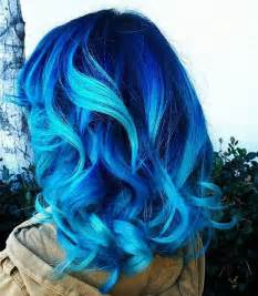 blue colored hair 25 best ideas about blue hair colors on blue