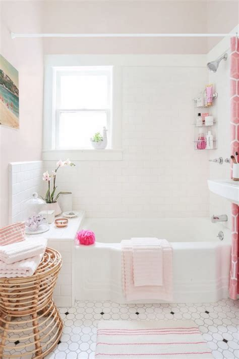 pink bathroom ideas vintage bathrooms my mint pink bathroom the inspired