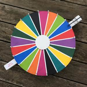 color spinner wheel 10 color flat spin chalkboard prize wheel spinning wheel