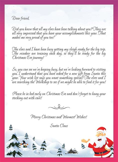 1000 images about santa letter templates on pinterest