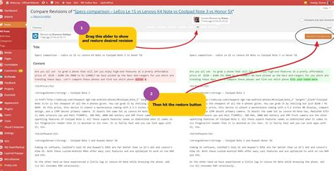 wordpress revisions tutorial solved wordpress post editor content is lost while updating