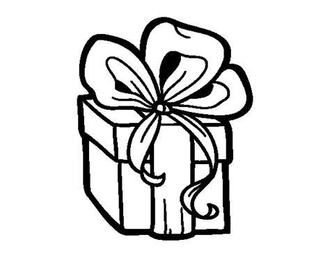 dibujos de navidad para colorear dibujosnet dibujo de un regalo de navidad para colorear dibujos net