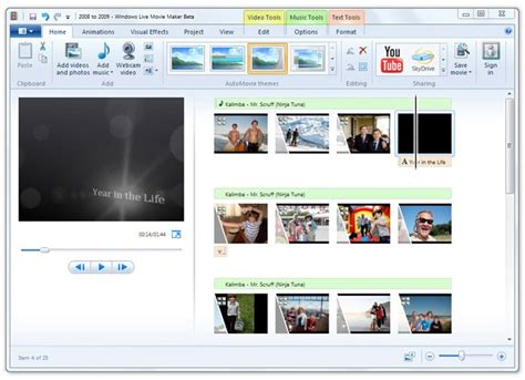 automovie themes movie maker windows live essential wave 4 coming soon screenshots