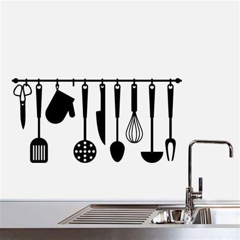 lo b 225 sico para decorar una cocina r 250 stica casa y color decoracin para la cocina utensilios y recetas vinilo