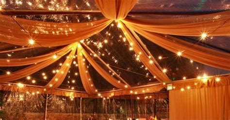 Fabric Swag Ceiling by Ceiling Swag Lights And Draped Fabric Wintertime