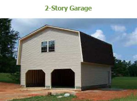 two story workshop 2 story barn garage bunce buildings