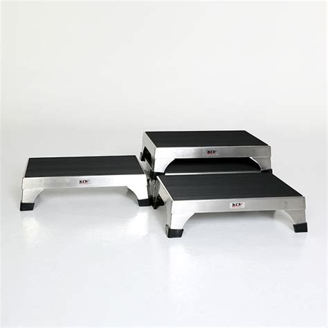 stainless steel stacking step stool by mid central step stools
