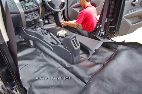 Karpet Lantai Chevrolet Spin si hitam grand livina pasang pelapis jok dan karpet dasar