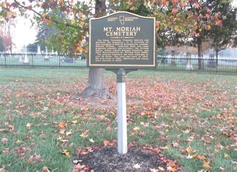 618 mount moriah drive cincinnati oh 45245 mt moriah cemetery historical marker