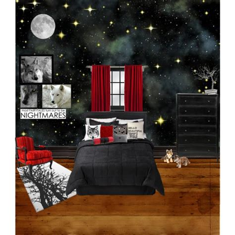 Bedroom Ideas For Teenagers Boys teen wolf inspired bedroom polyvore