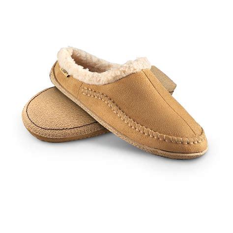 chestnut slippers s snowy creek slippers chestnut 234053 slippers