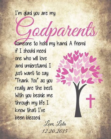 Godparent Thank You Card Messages
