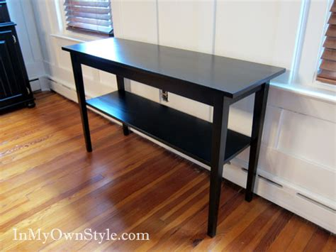 Staining Furniture by Painting Furniture Black Stain Vs Black Paint In Own