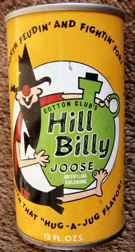 Medium Clutcher Soda Cans W63 hill billy joose another of my goofy soda cans i probaly flickr photo
