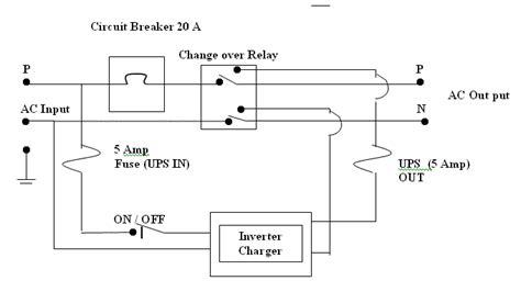 ups wiring diagram circuit liebert ups cairearts