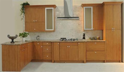 bamboo flat panel kitchen cabinets