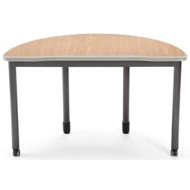 desks steel mesa series semi circle desk 48