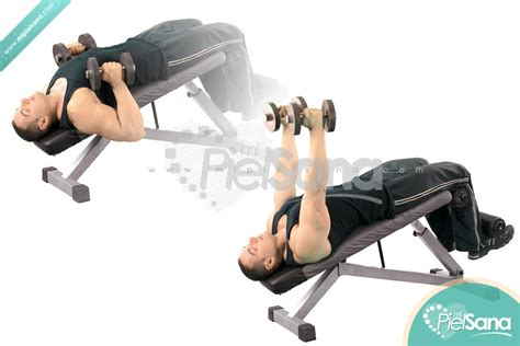 decline bench dumbbell press palms in decline dumbbell bench press