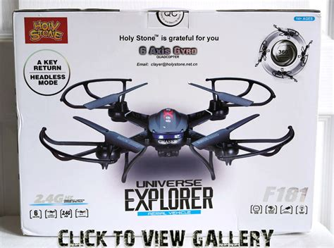 Drone Universe 6 Axis Gyro modsynergy review 314 holy f181 universe