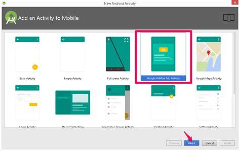 activity android admob para android a 241 adir anuncios a una app m 243 vil