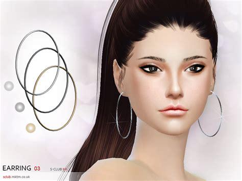 s club mk ts4 bow tie s club mk ts4 earring n3 sims 4 updates sims 4