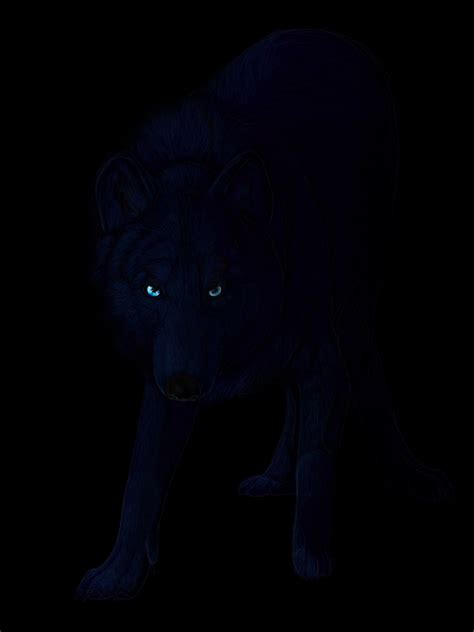 Wolfe Background Check Black Wolf Blue Drawing Www Imgkid The Image