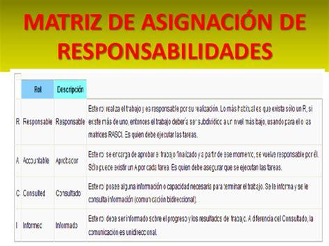 ultimas novedades para la asignacion t 233 cnicas de la descripci 243 n de responsabilidades