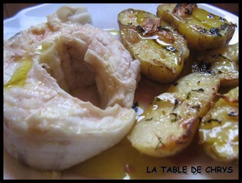 comment cuisiner le congre poisson congre accompagn 201 de pommes de terre la table de chrys