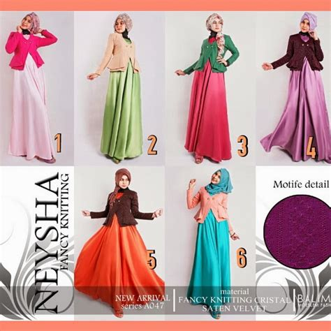 3 Warna Gn Blezer 2tone by Indahnya Butik Balimo Collection