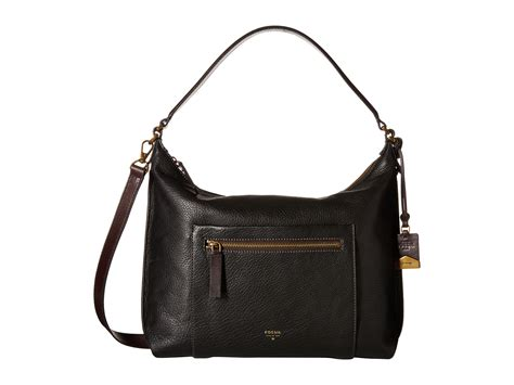 Fosil Totte Bag 2 lyst fossil vickery shoulder bag in black