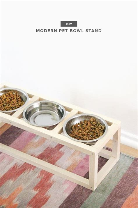 Moderne Dekoration 2892 by Diy Modern Pet Bowl Stand Diy Deco Dise 241 O Interiores