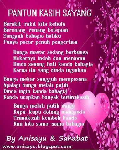 puisi cinta  anisayu pantun kasih sayang buat pacar