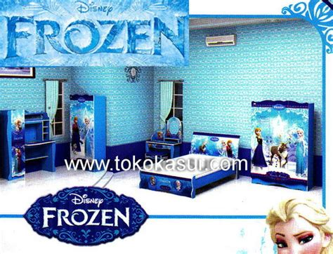 Ranjang Sorong Frozen toko furniture simpati bed 2 in 1 kasur sorong