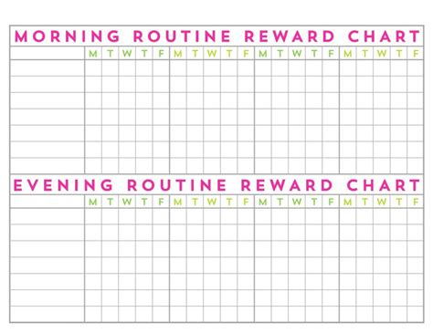 printable reward charts for 9 year olds 9 simple ways to prep your home for a new school year