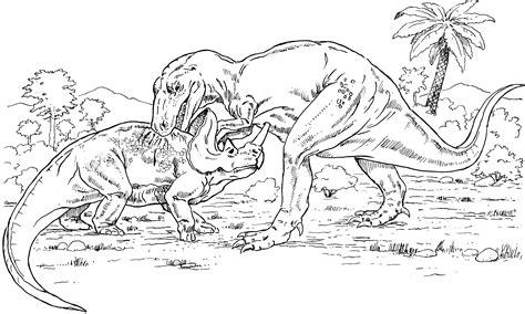 dinosaurs coloring pages games dinosaur gorgosaurus and monoclonius coloring page