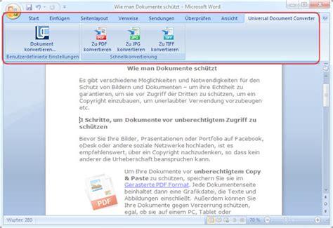 Word Vorlage In Pdf Umwandeln Wie Word In Pdf Umwandelt Universal Document Converter