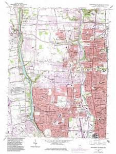Northwest Ohio Map by Northwest Columbus Topographic Map Oh Usgs Topo Quad