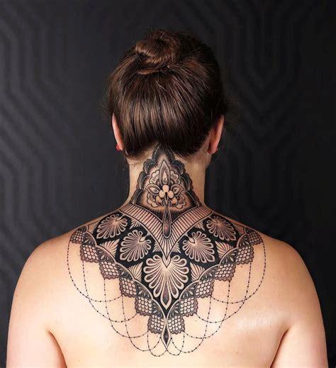 neck piece tattoo designs ornamental neck best design ideas