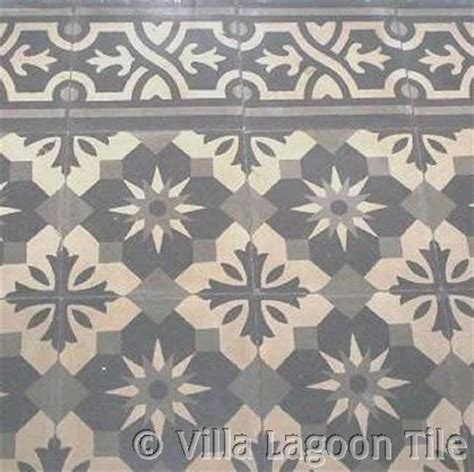 Kitchen Floor Tiles Design Antique Cement Tiles Villa Lagoon Tile