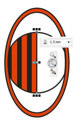 membuat logo ac milan di coreldraw tutorial membuat logo ac milan dengan coreldraw x4