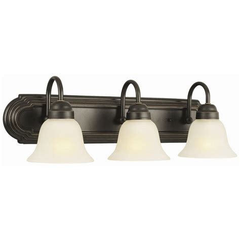 Design House Cameron 3 Light Rubbed Bronze Bath Light Fixture 512665 The Home Depot by Design House Allante 3 Light Rubbed Bronze Bath Light 506618 The Home Depot